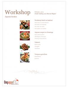 workshop japanse keuken